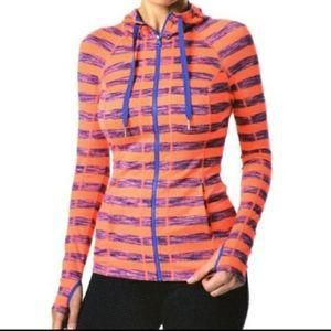 Lukka Stripe Bright Athletic Jacket